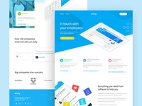 People Managment Software - Landing Page