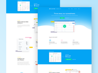 Leave Dates landing page