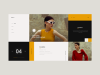 Vieo daily ui spaced challenge challenge spaced fashion style concept clothing minimalistic elegant landing women