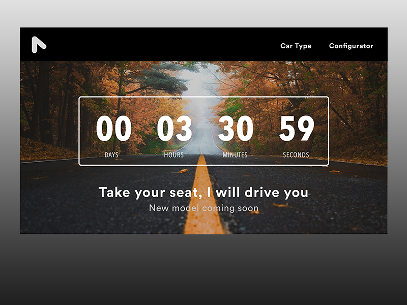 Daily UI #014 Countdown Timer timer sketch prototype interaction concept school ux ui