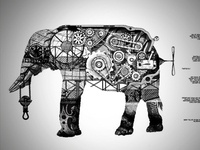 Mechanic Elephant