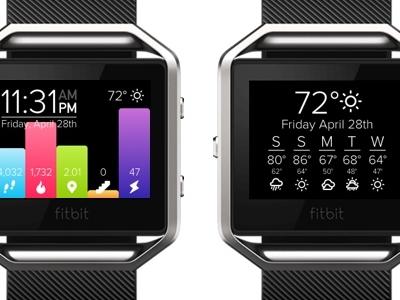 Fitbit UI Concept