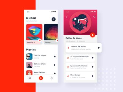 music design illustration dribbble ui