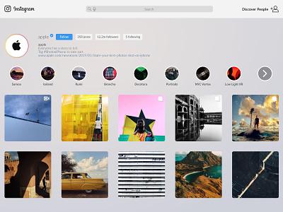 Instagram app - tvOS application instagram tvos apple tv