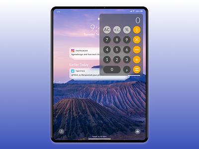 Daily Ui 004  | Calculator ipad x ipad apple ios coding design marketing figma calculator daily ui