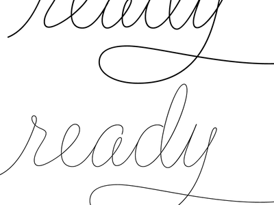 Regular & Display weights finished flirt script script monoline cursive screenshot