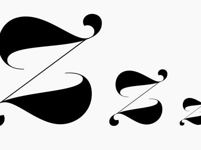 ZZZZZZZ type design contrast thin release display