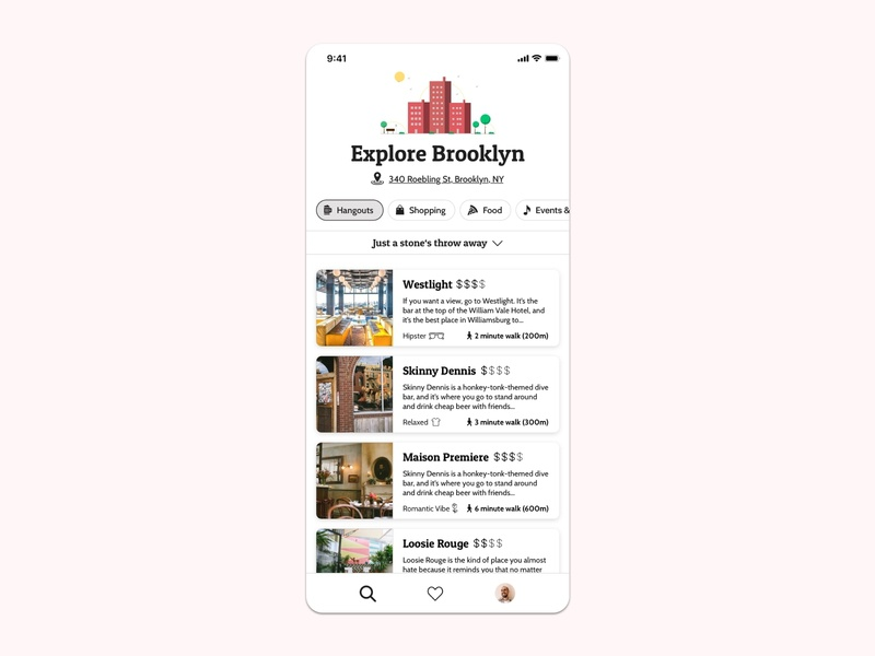 🕵️‍♀️Neighbourhood Discovery App