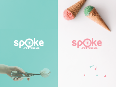 Logo for Spoke Ice Cream