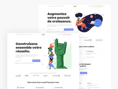 freddelacompta.com redesign