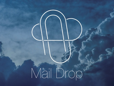 MailDrop concept logo