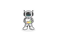 Digital Marketing Mascot Logo