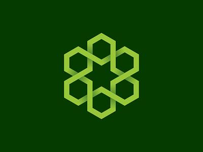 Six Hexagon branding illustration logos fun modern abstract icon vector logo