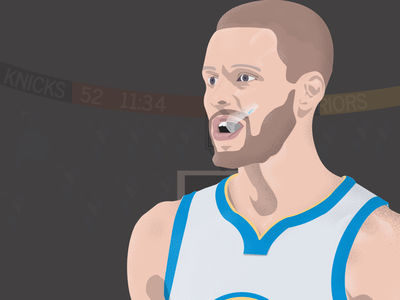 Stephen curry player of the week stephencurry stephen illustrator design illustrator illustration design illustration art illustration curry art