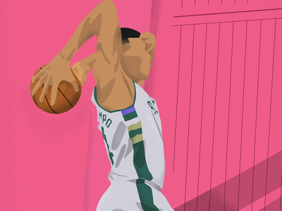 Greek freak nba giannis greakfreak illustrator illustration illustrator art art illustration art