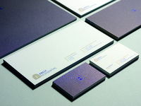 Arch Residential logo and stationery design