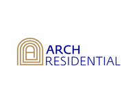 Arch Residential logo design