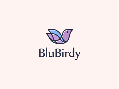 BLUBIRDY logoshift icon awesomelogo logo dribble logo brand logo passion logo art logoroom bird bird icon bird logo behance logo design logoplace