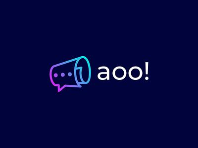 AOO logoart logopassion broadcast logodesign logo art colorful applogo aplication logoshift logoawesome dribbble logos behance