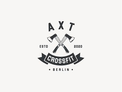 AXT CROSSFIT logopassion icon logoroom logo art logos brand identity logoshift logo design crossfit logo abstract logo vintage logo logoawesome crossfit dribbble behance