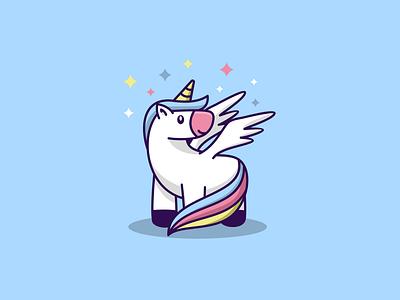 CUTE UNICORN logoroom behance logodesigner logo modern icon chef unicorn abstract logo unicorn logo logo art logoshift awesome logo cutelogo dribble