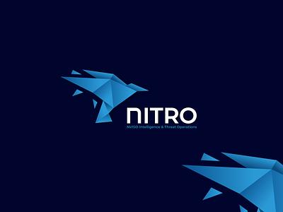 NITRO modern chef cute logo origamilove origamilogo abstractlogo logo logoshift logos dribble design logoroom icon behance origami