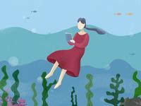 read under the sea