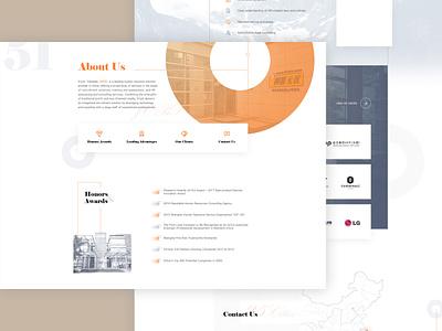 about us web design ui aboutus