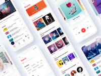 Hi Music App Design
