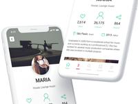Mobile App For Musicians | UI Concept smartphones ios concept app musicians mobile app design app ux ui