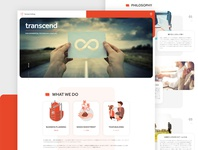 An investment company for a seed-stage company in Tokyo corporate website micro interaction scroll animation uiux ui investment company japan tokyo landingpage webdesign