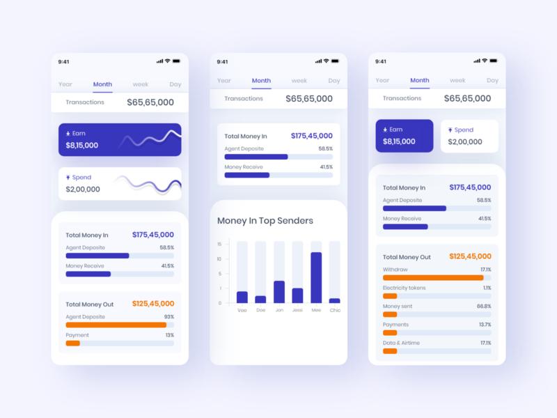 Finance - Mobile App mobile ui mobile mobile app fintech app fintech financial app financial finances finance app finance banking bank app bank app design app