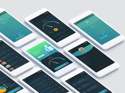 Financial & Firming Mobile App Design