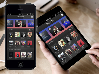 Music Collections Store App