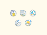 Travel Category Icons