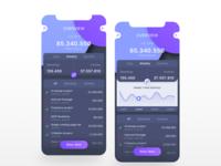 Peronal Expense App Concept