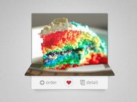 Rainbow Cake ready to order :)