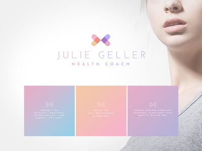 Julie Geller Health Coach Branding