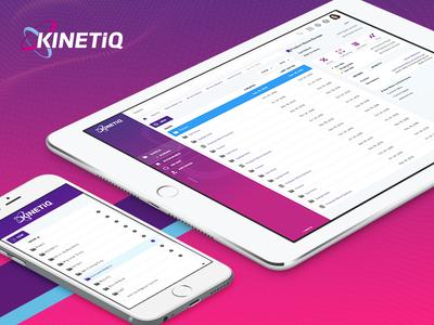 KinetiQ Dashboard Design