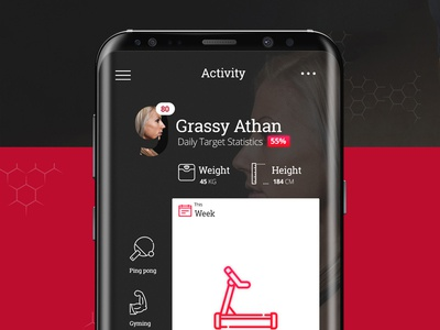 Fitness Nine Track Mobile App ux ui iphone health design world ios app android gym