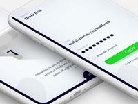 Plumber app concept.