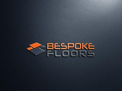 Bespoke Floors typography branding vector design graphic logo illustration logo design graphic design