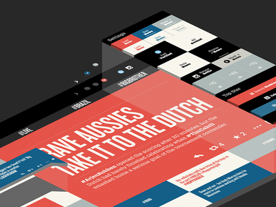 Daily Star - Redesign ux graphicdesign webdesign responsive typography