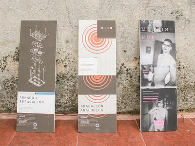 Talleres & Seminarios alternative low fidelity lo-fi cassette tape festival diseño afiche