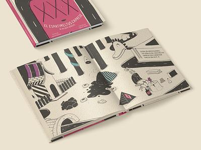 Espatimeltus Caprese - Illustration Book digital art design book illustration