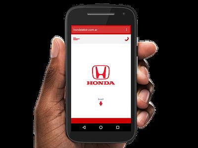 Honda Leloir - WebPhone phone mobile web honda