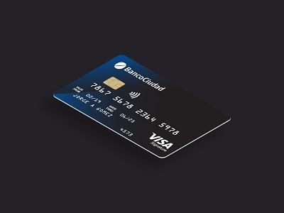 Contactless Signature Visa credit card creative vector illustration set flat economy bank design graphic mockup