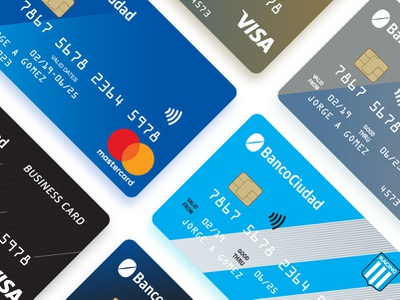 Contactless Cards draw design card design cards vector creditcard contactless visual strategy finance business credit card design