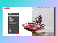 Yamaha Jet ski  header concept