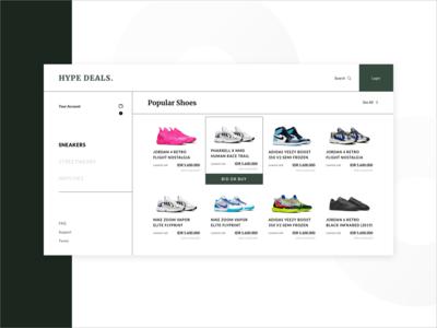 Minimalist Shoes E-commerce